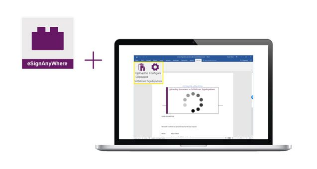 Feature, MS Office Plugin and eSignAnyWhere